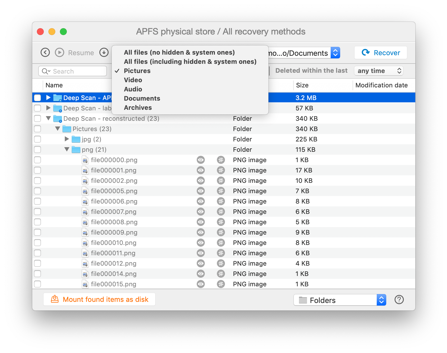 How to recover deleted photos with diskdrill