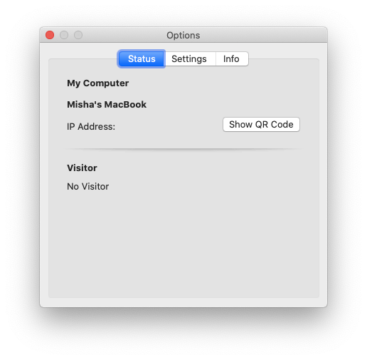Remote Mouse controller Mac app