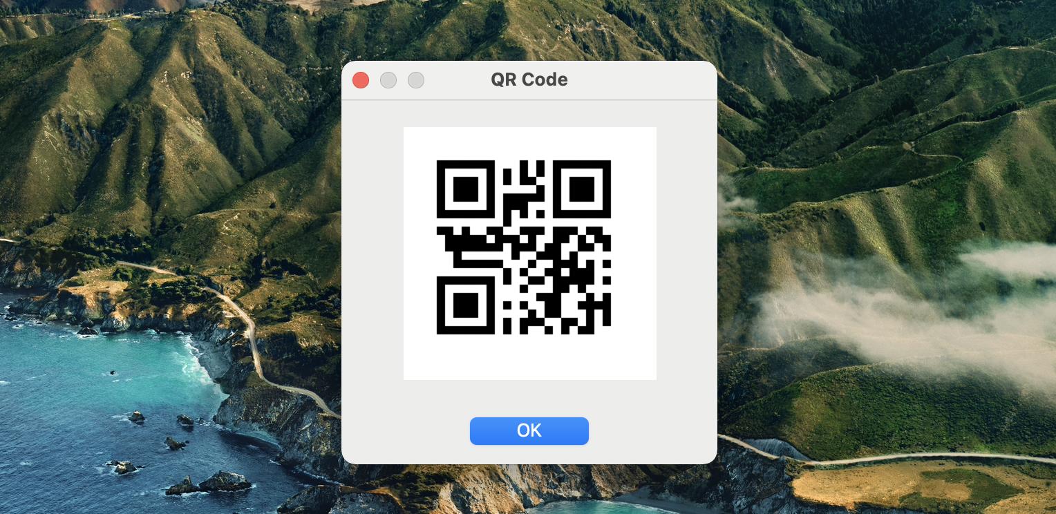 remote mouse QR code