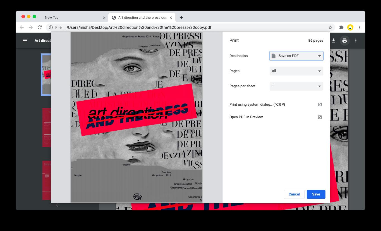 unlock a PDF with Chrome