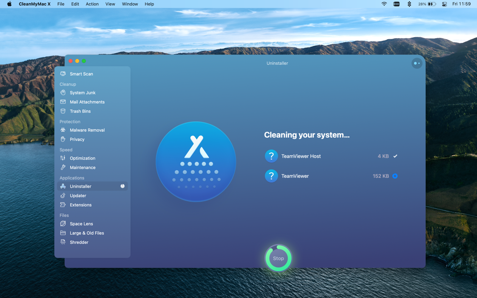 removing-leftover-files-teamviewer-cleanmymac