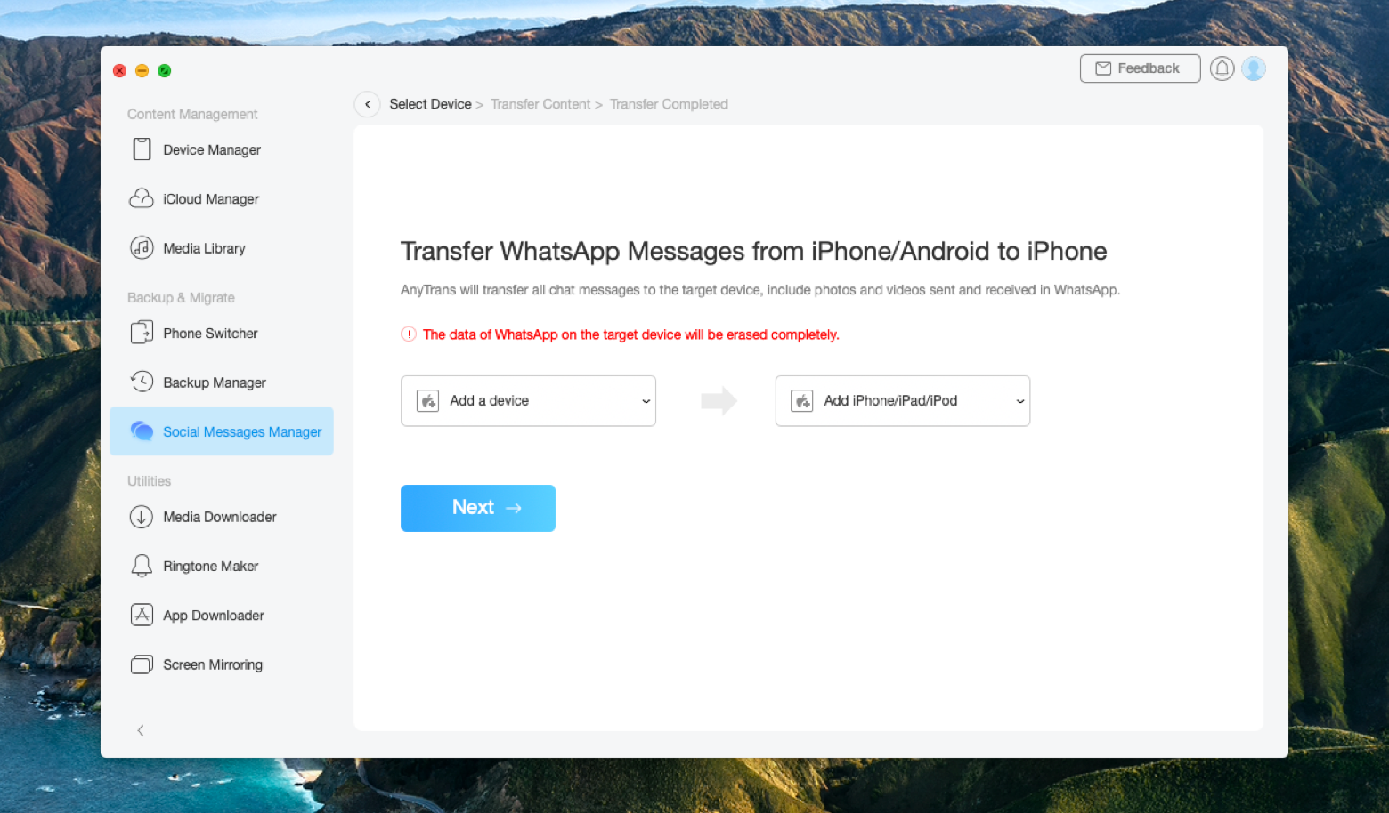 restore messages iphone