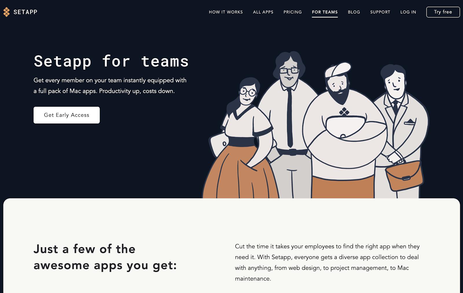 Setapp for Teams beta