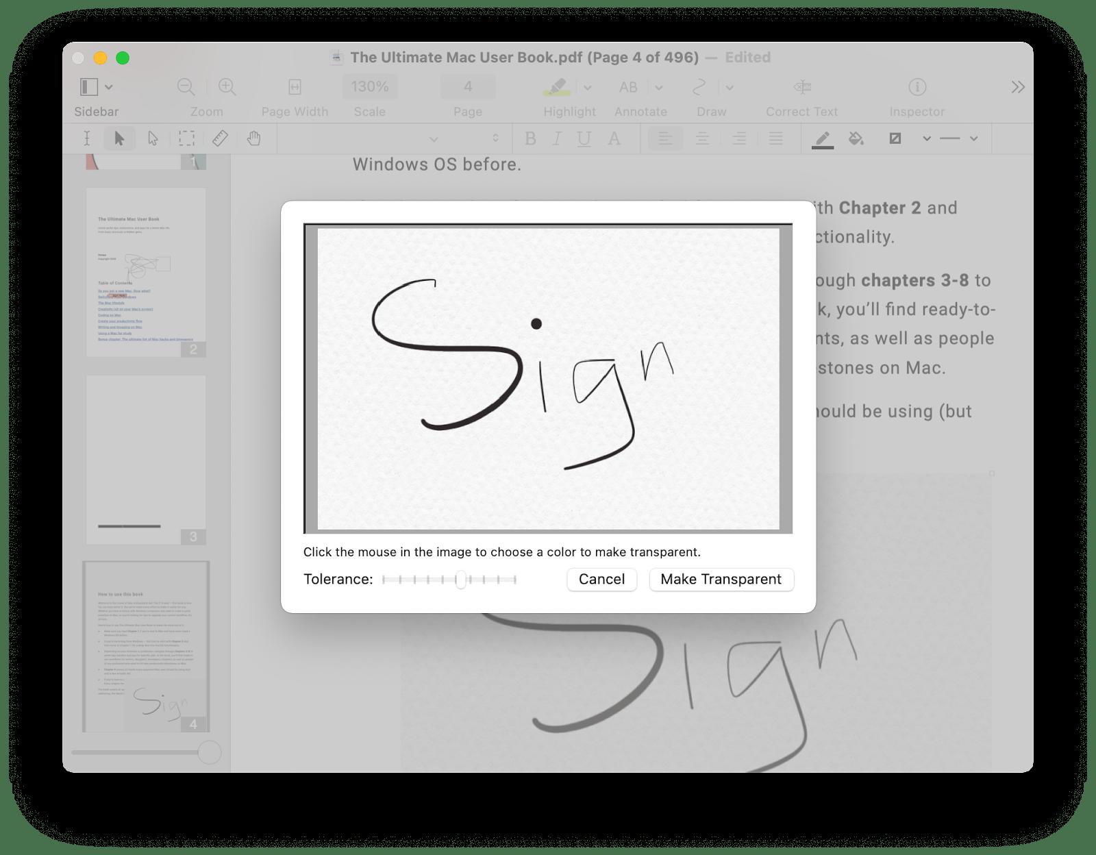 sign pdf mac pdfpen