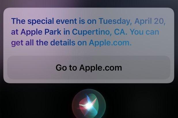 apple april event