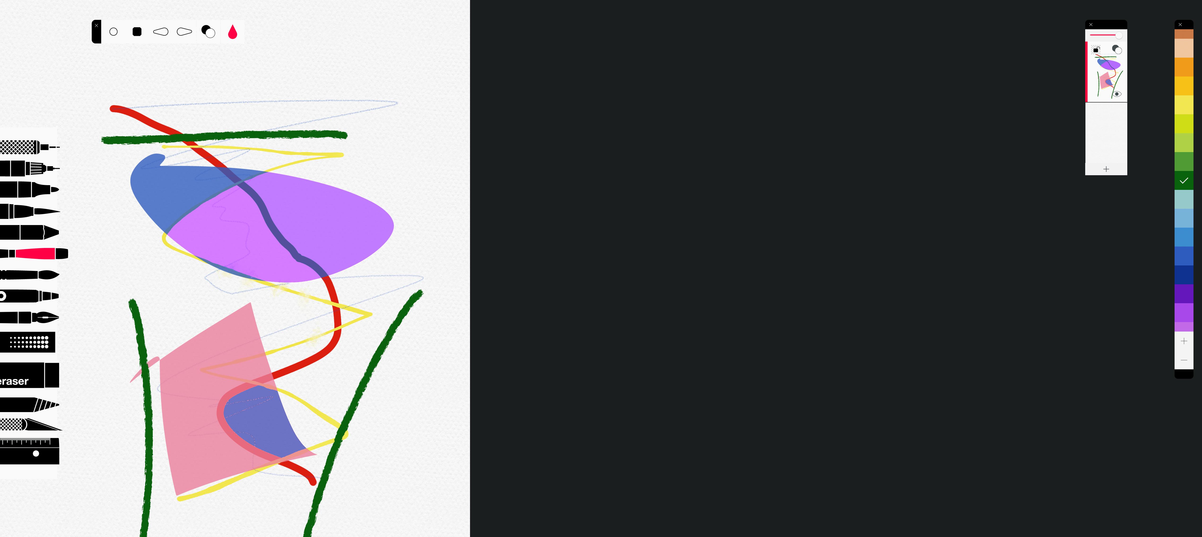 Tayasui Sketches app mac