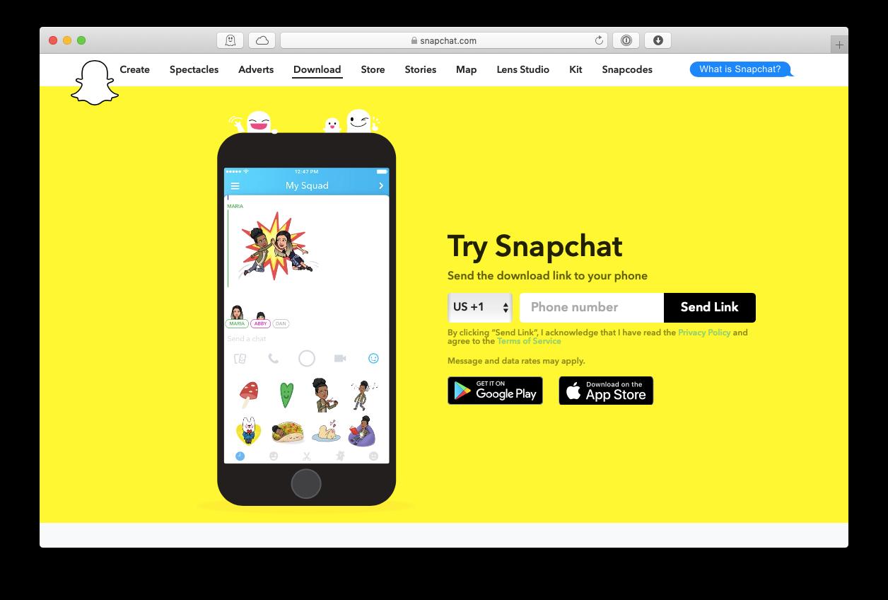 snapchat mac download