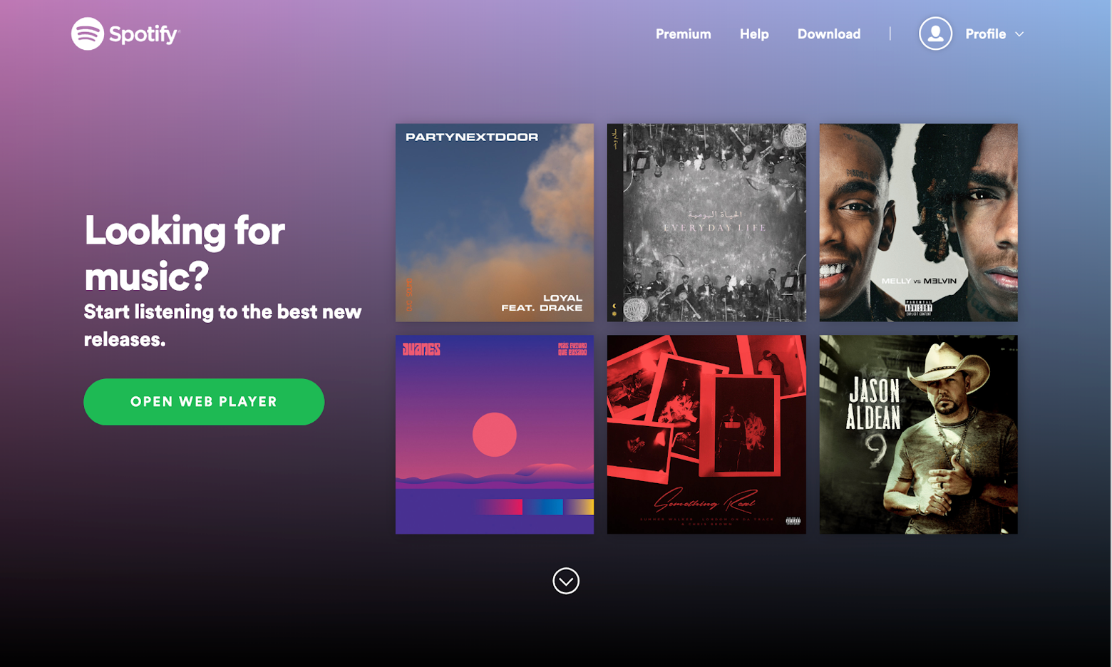 Spotify as a gift