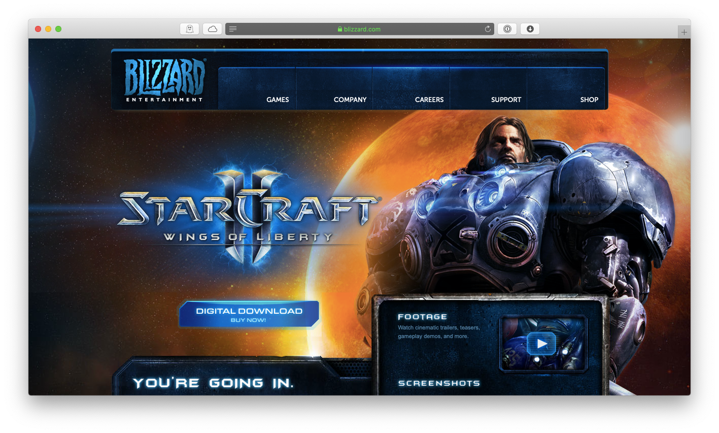 Starcraft II mac game