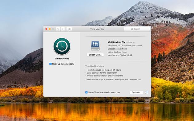 switch from pc to mac timemachine
