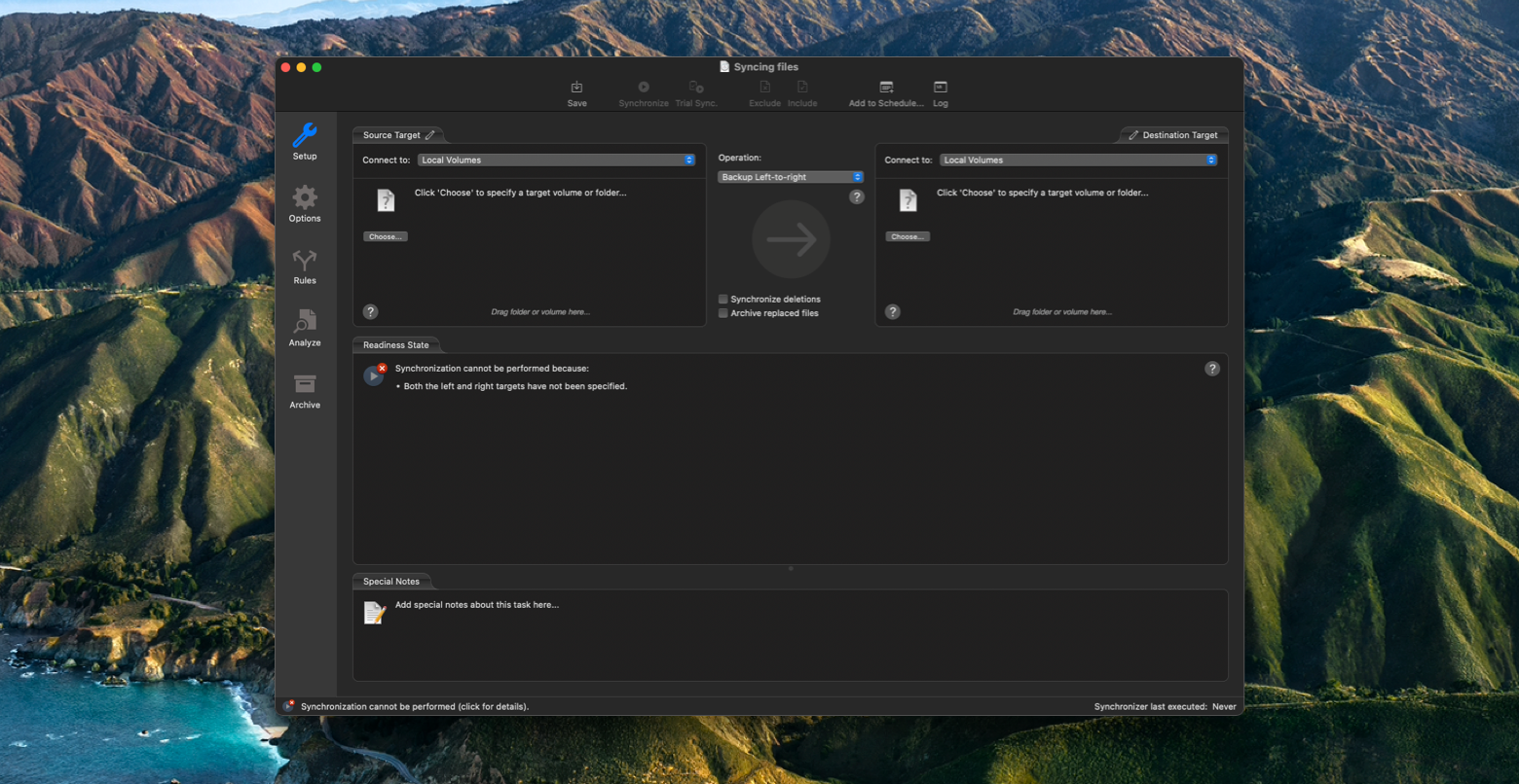 sync files mac chronosync express