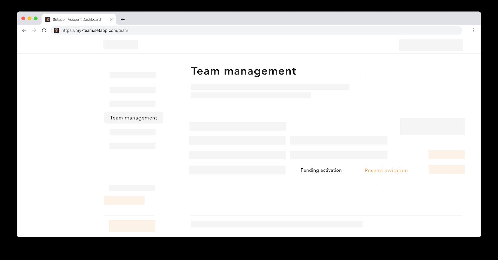 team management Setapp