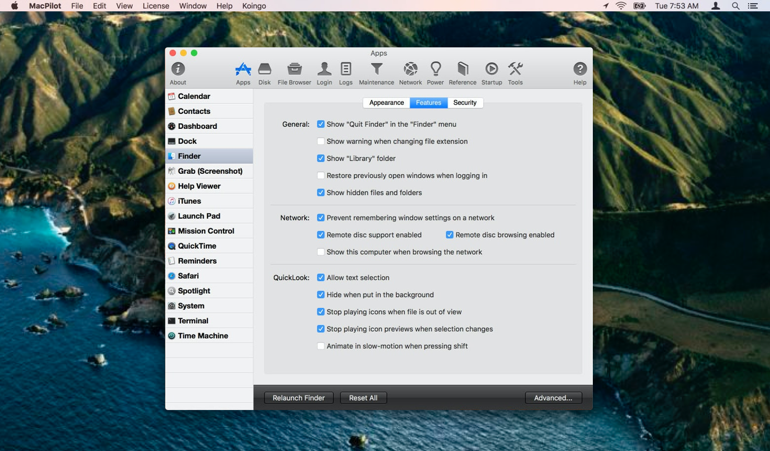 Terminal for Mac with MacPilot