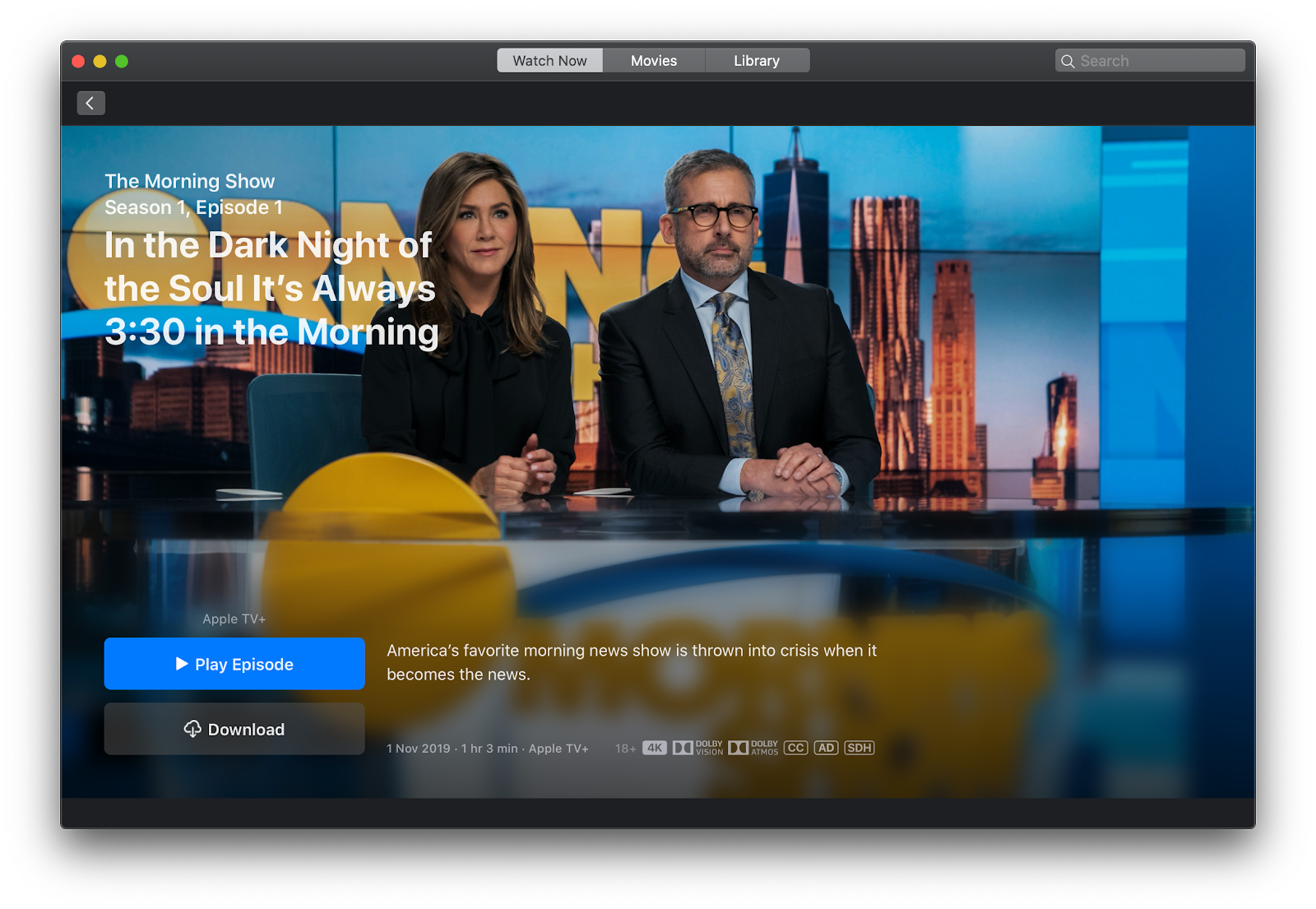 The Morning Show Apple TV Plus