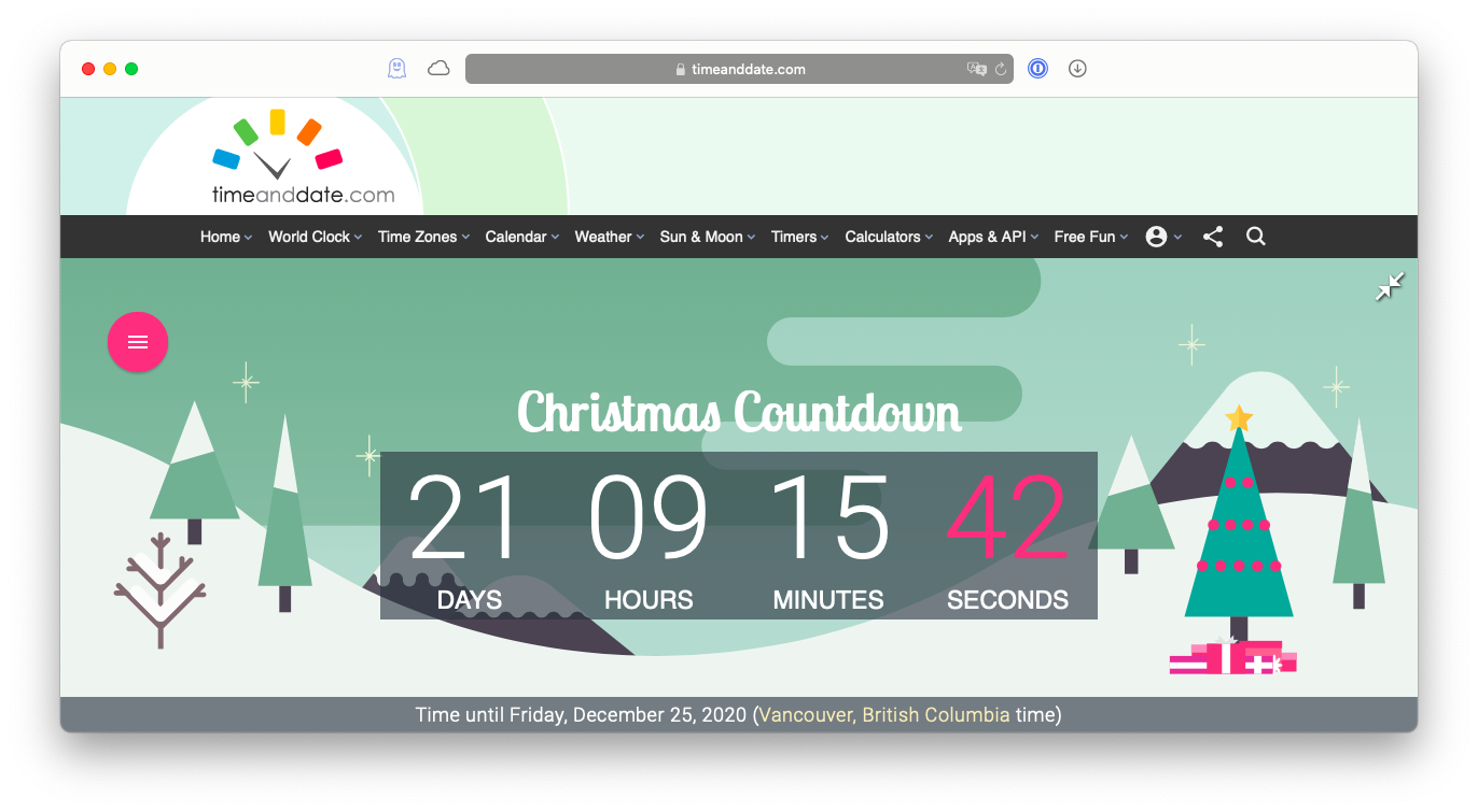 Create your own countdown