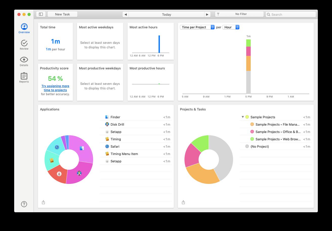 timing mac productivity tracker
