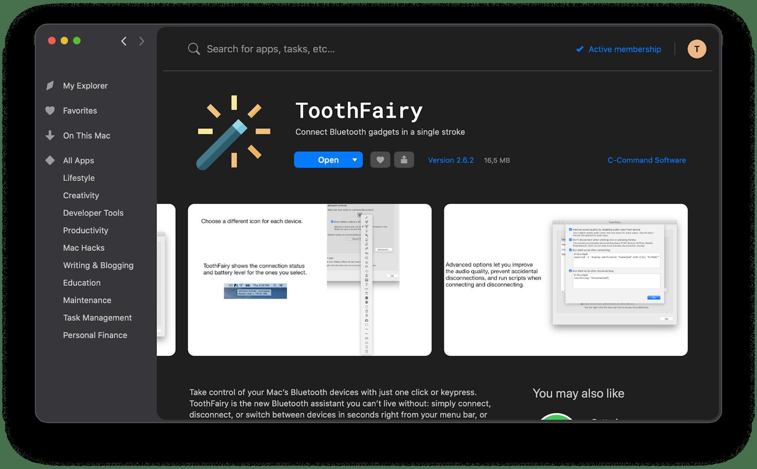 ToothFairy app