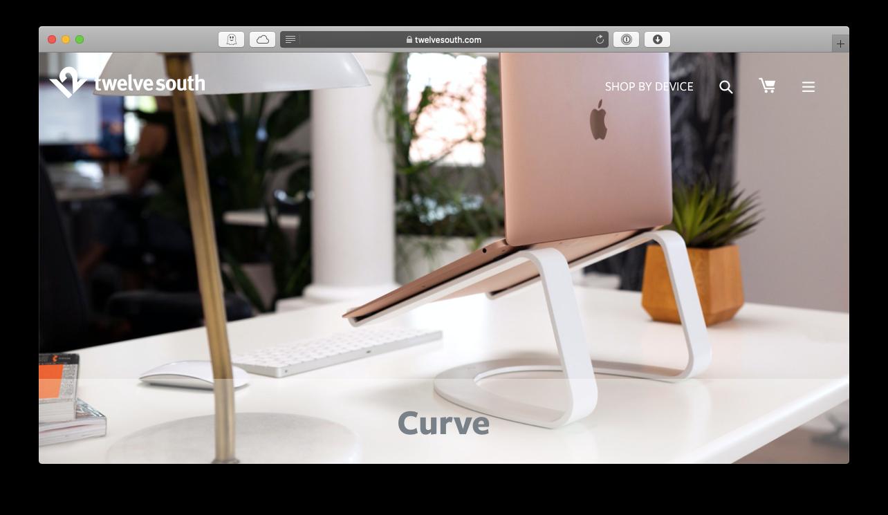 Twelve South MacBook stand