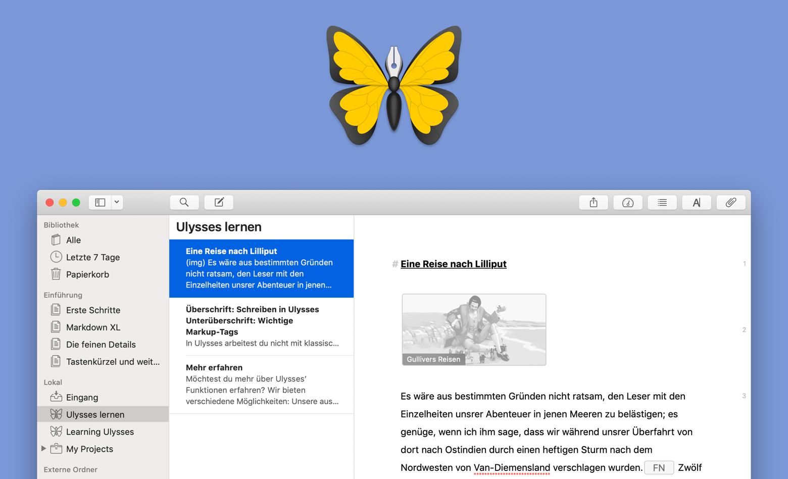 Ulysses-App