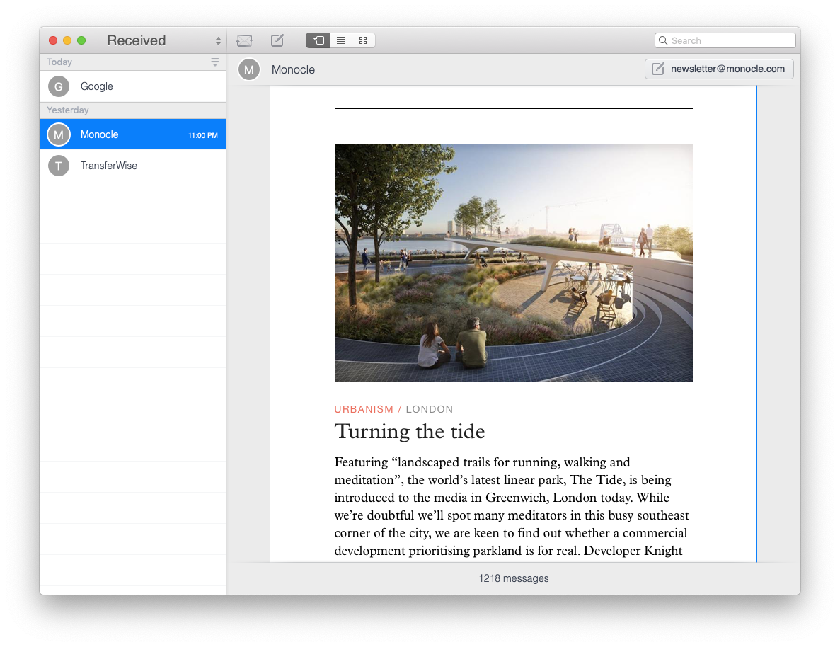 unibox email client for mac