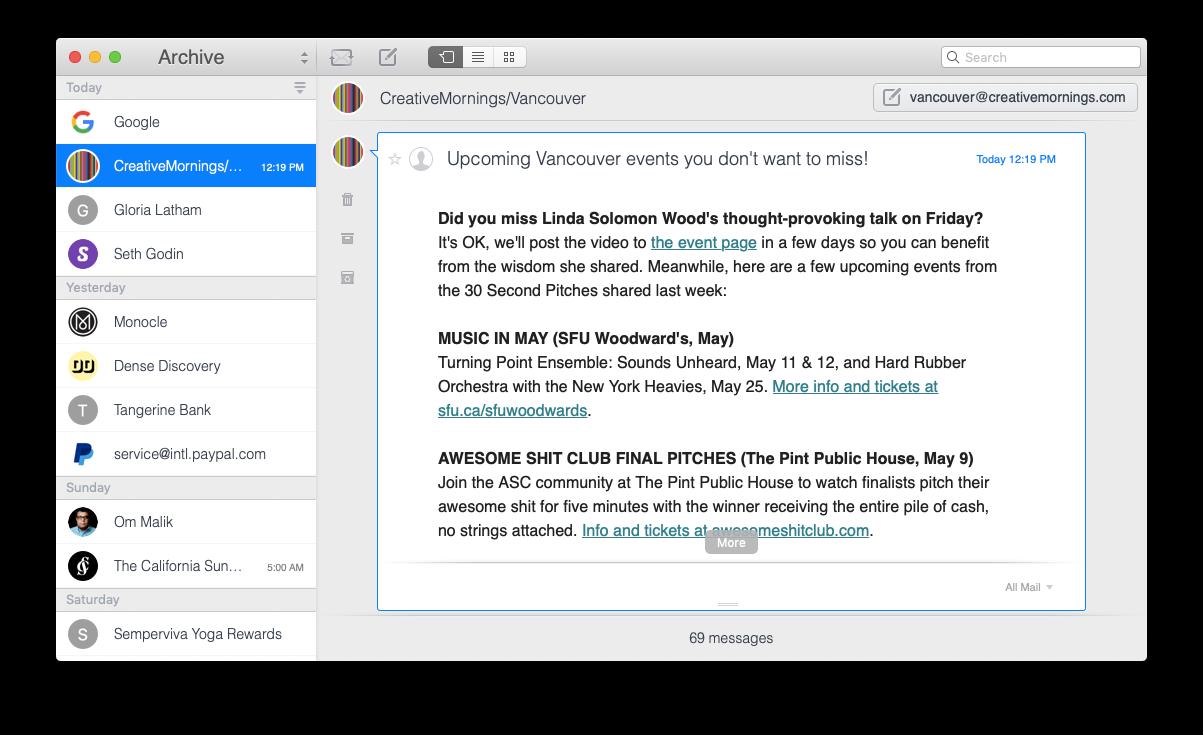 Unibox mail app mac