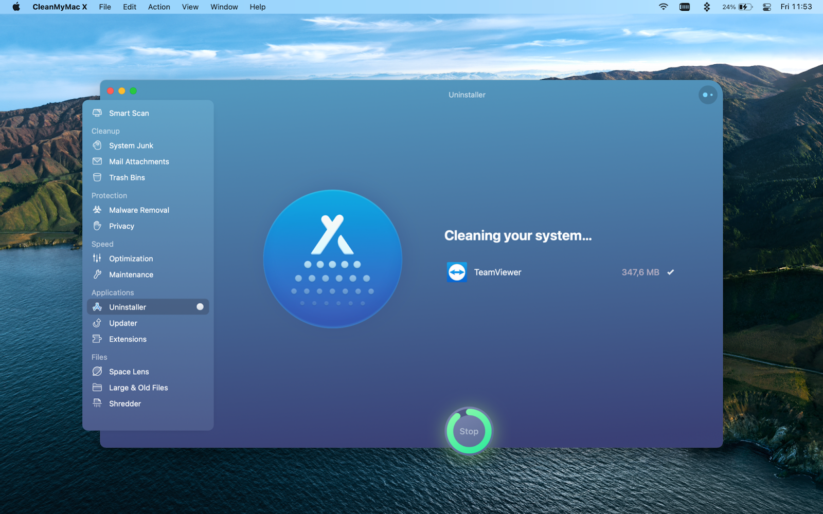 uninstall-teamviewer-with-cleanmymac