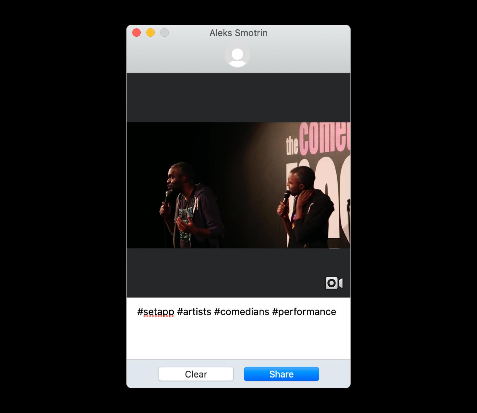Mit dem Mac Videos auf Instagram hochladen