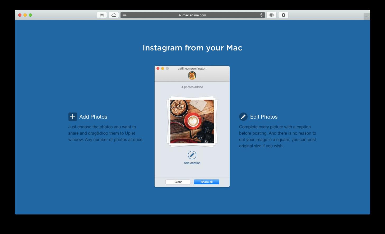 Uplet upload Instagram bulk