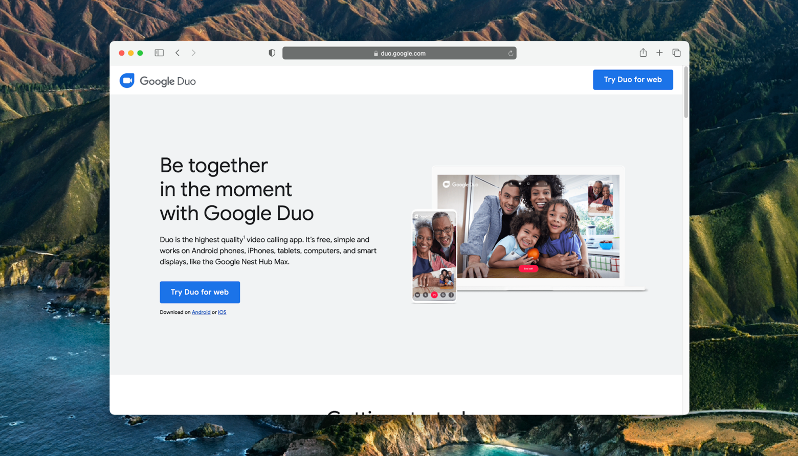 use-google-duo-on-mac