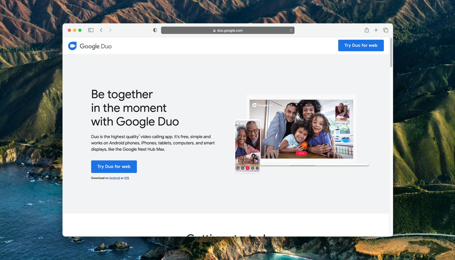 use-google-duo-on-mac