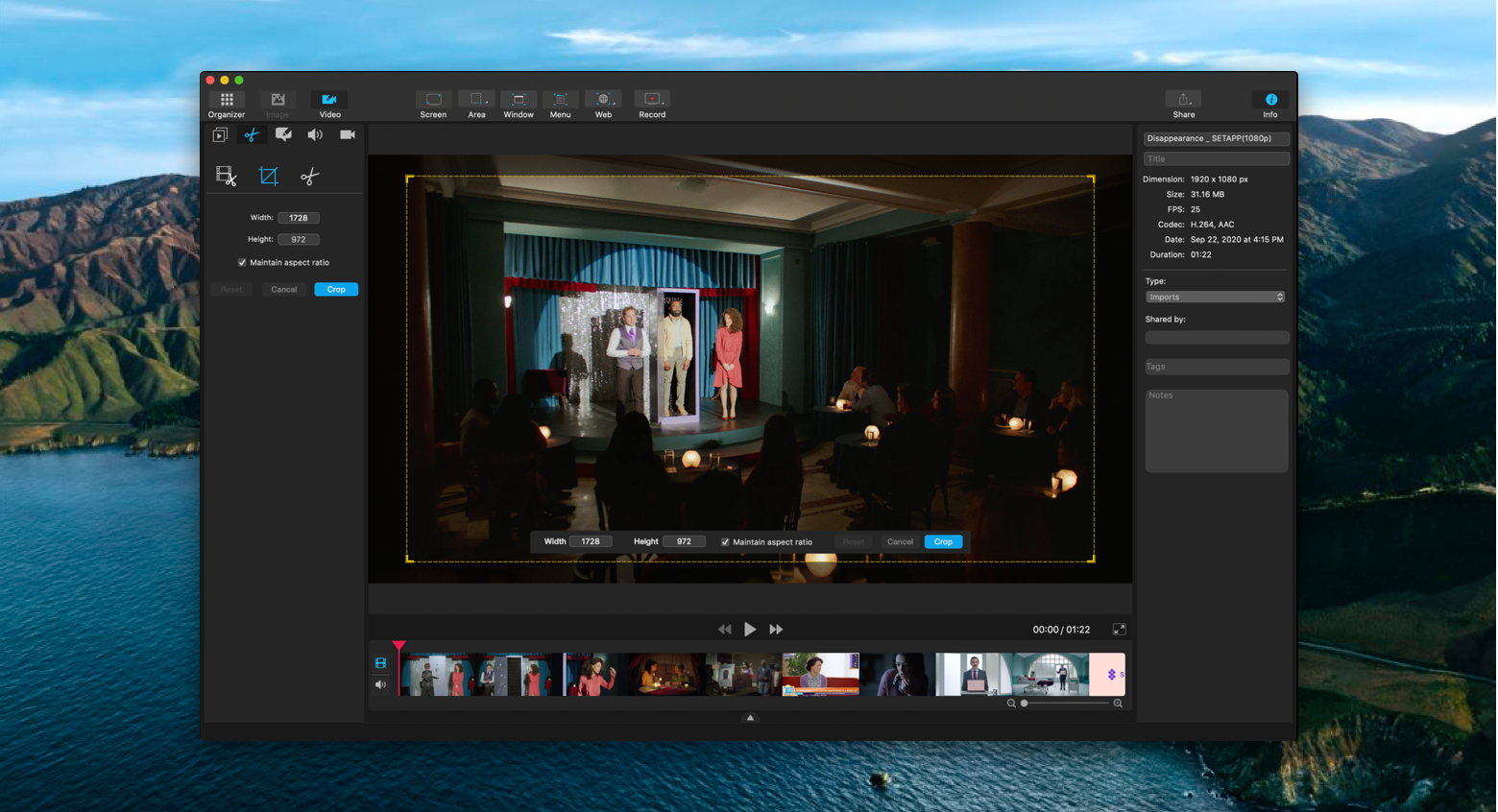 video recording on Mac with Capto
