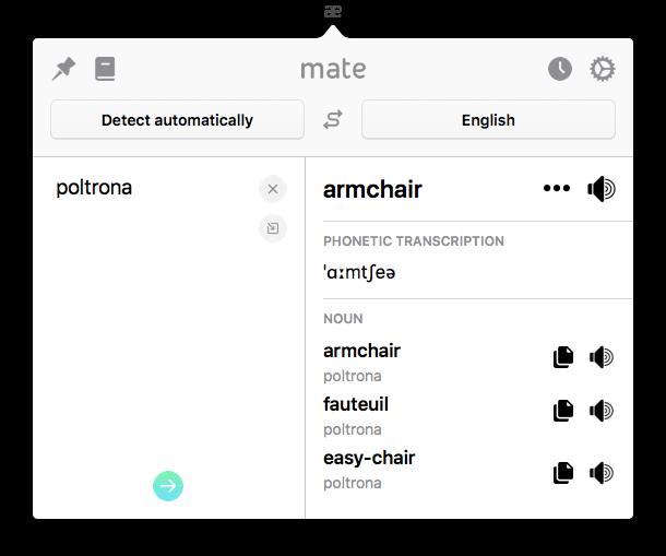 voice translation Mate Translate app