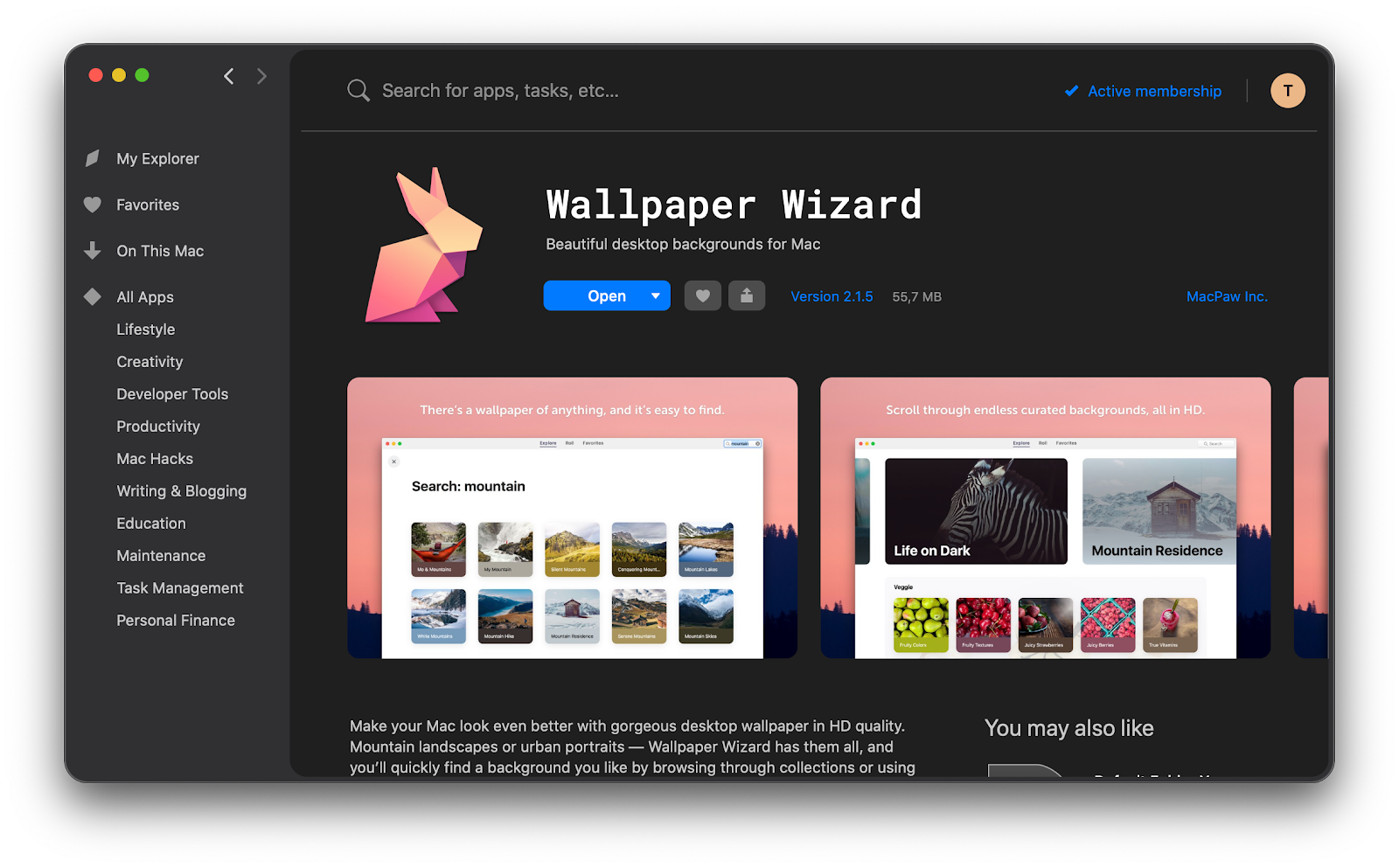 Wallpaper Wizard app
