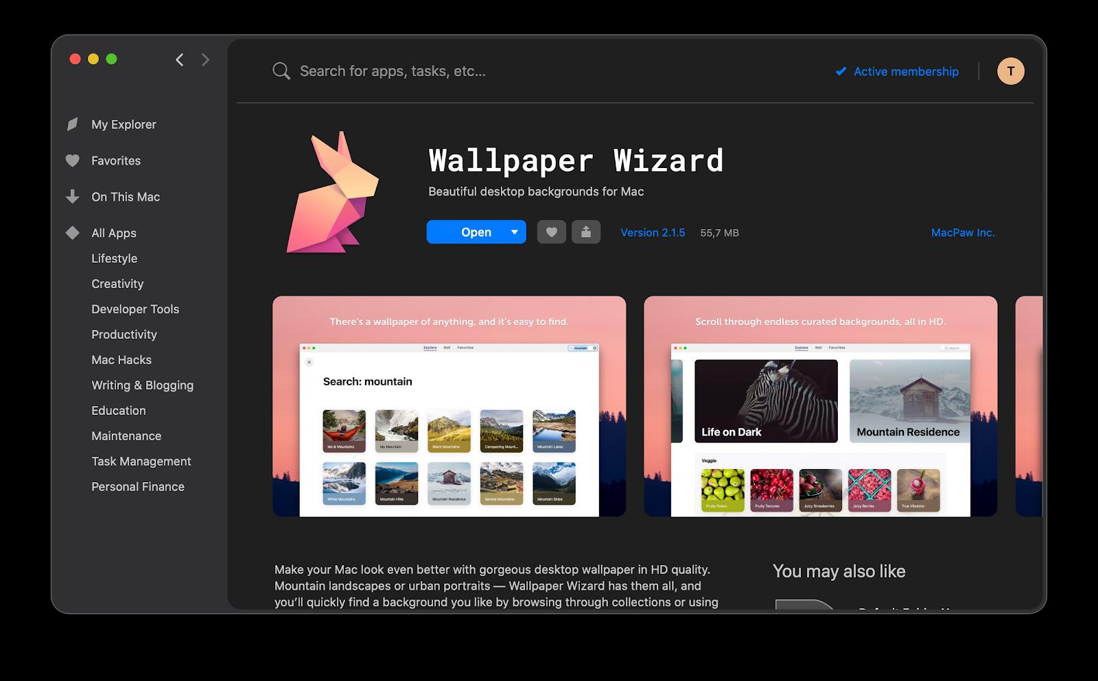 Wallpaper Wizard app
