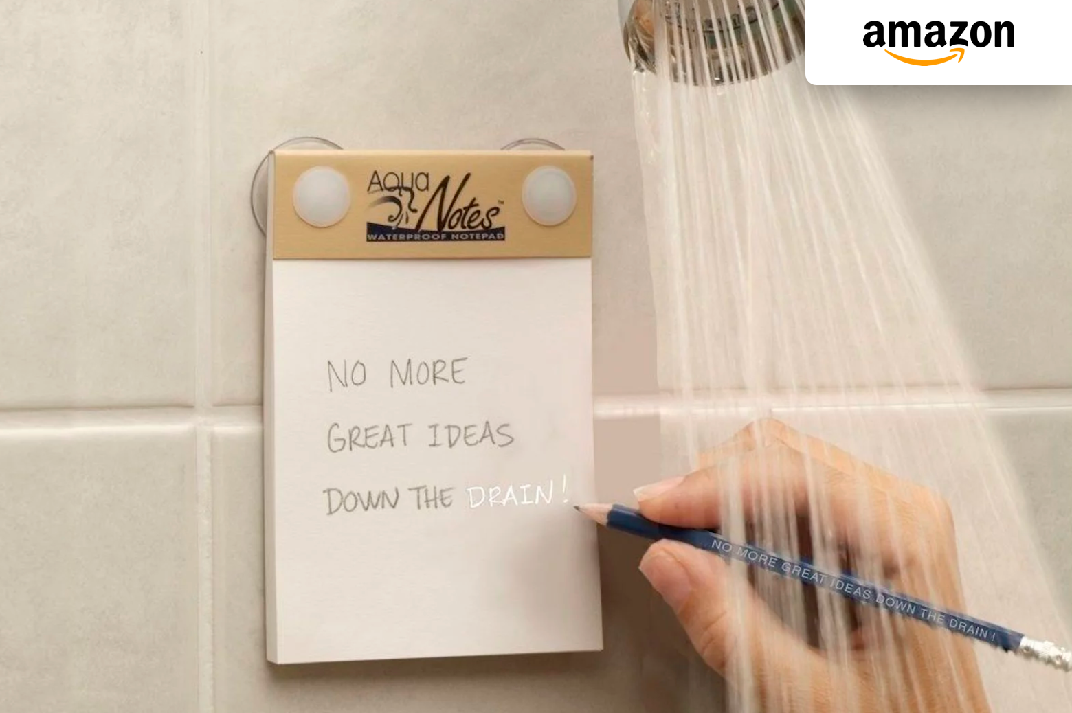 Aqua Notes Waterproof Notepad | Amazon