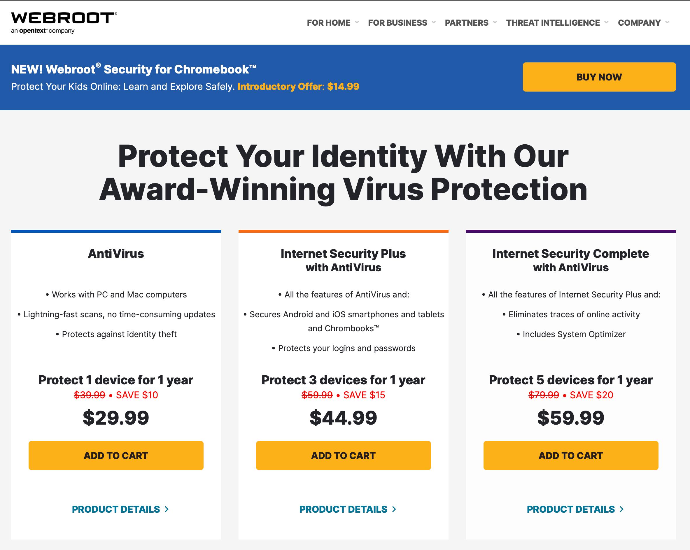 Webroot AntiVirus mac