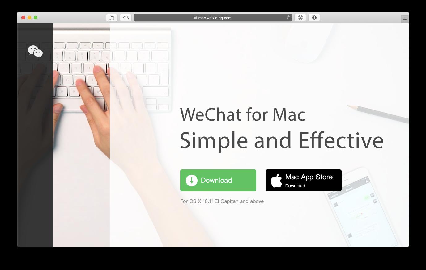 WeChat Mac app download