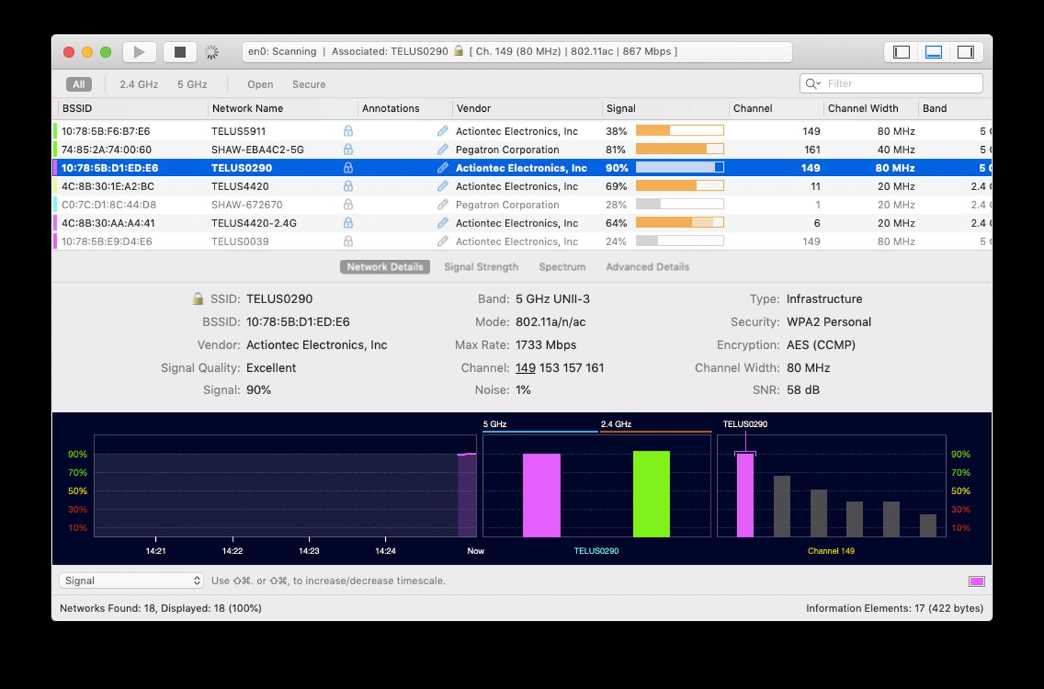 wifi explorer mac fix network connection