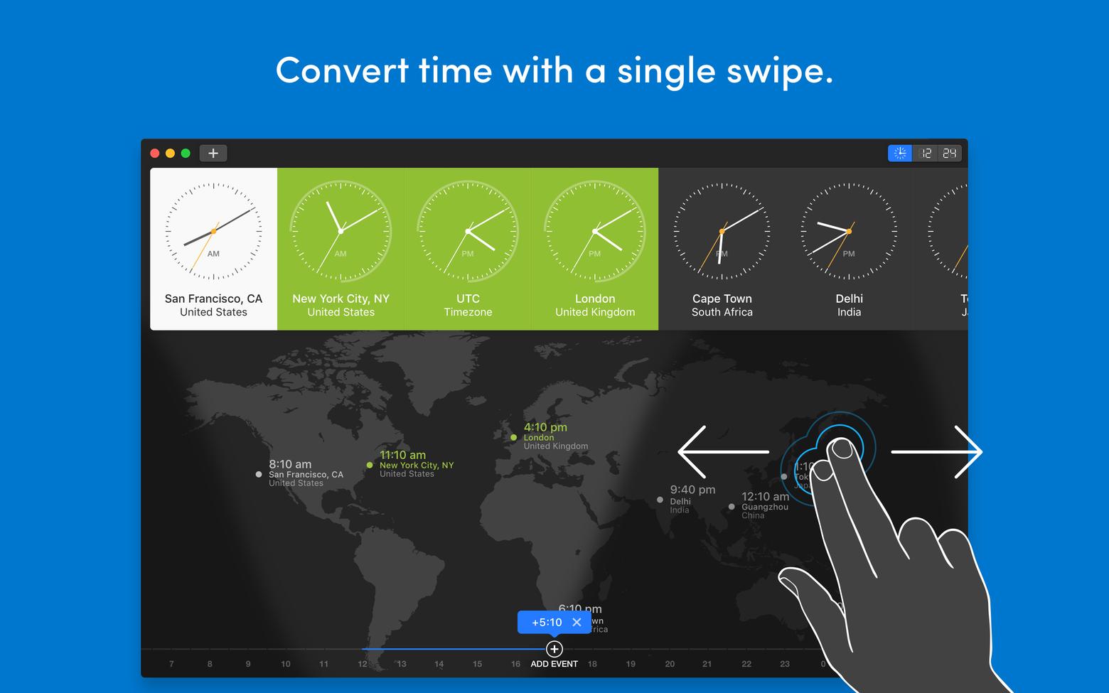 world clock pro app